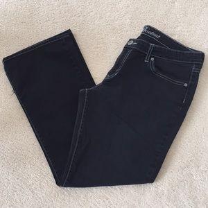 GAP JEANS Black Bootcut size 14/32a